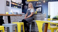 Local support has been key to the success of Bean in Dingle. Above, barista Georgia Burgess, the 'heart and soul' of the shop. Photo: Don McMonagle
