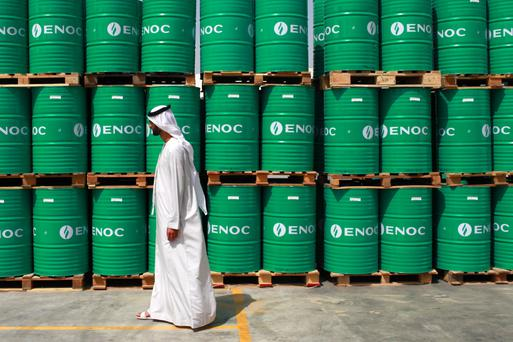 Oil prices slid almost 7pc yesterday. Photo: Gabriela Maj/Bloomberg