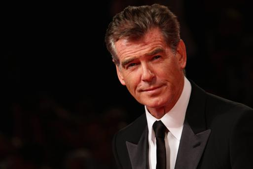 Actor Pierce Brosnan. (Photo by Vittorio Zunino Celotto/Getty Images)