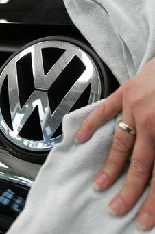 Putting the shine on a valuable marque at Volkswagen, where financing last year topped €350m
