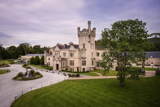 The five-star Lough Eske Castle in Co Donegal