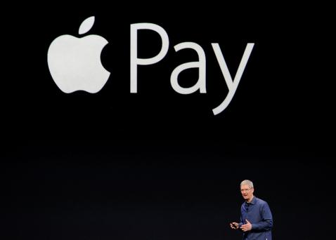 Chief executive Tim Cook said Apple Pay could be introduced in Ireland soon. Photo: Bloomberg