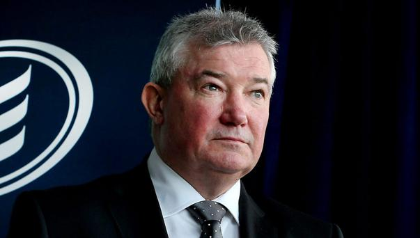Bank of Ireland boss Richie Boucher. Bank of Ireland has reduced its one, two, three and five-year fixed-rate products, including a new rate of 3.35pc for a two-year fixed period for loan to values of up to 80pc. Photo: Steve Humphreys