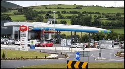 Barack Obama Plaza in Moneygall. Photo: Steve Humphreys