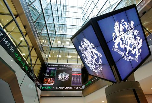 The London Stock Exchange. Photo: PA