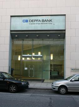 The DEPFA bank on Commons Street at the IFSC, Dublin.