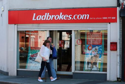 Ladbrokes said that its online division incurred overheads that were higher than expected.