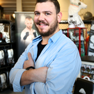 Sports entrepreneur Adrian Errity at his MMA gear shop Shoptagon in John Kavanagh's SBG headquarters in Dublin Photo: Gerry Mooney