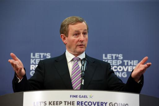 Enda Kenny. Photo: Frank McGrath