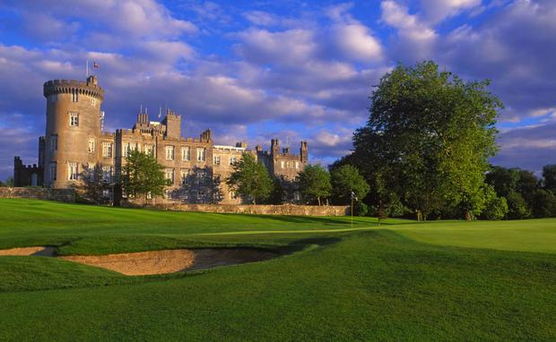 The luxury Dromoland Castle hotel in Co Clare