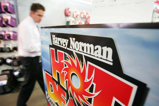 Harvey Norman expects a return to profit this year. Photo: Ian Waldie/Bloomberg News.