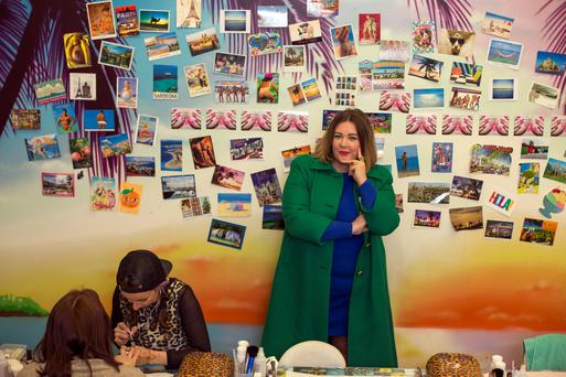 Andrea Horan at Tropical Popical on Dublin's South William Street. Photo: Mark Condren