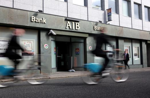 In the last two years AIB has enjoyed €1.1bn in write-backs Photo: Bloomberg Finance LP
