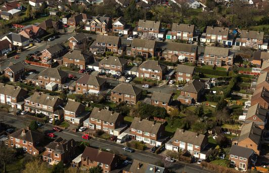 The value of the average deposit for a Dublin buyer has risen by 38pc in a year. Stock image
