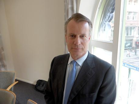 Johan H Andresen, head of the Council on Ethics at the Norwegian sovereign wealth fund