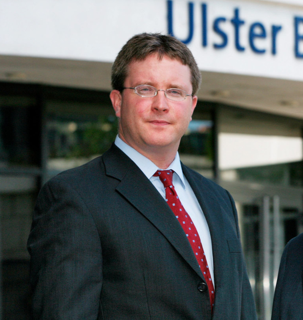 Simon Barry, Ulster Bank