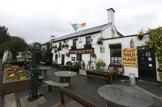Johnnie Fox's pub, which has hosted heads of state, prime ministers, and Brad Pitt and Angelina Jolie
