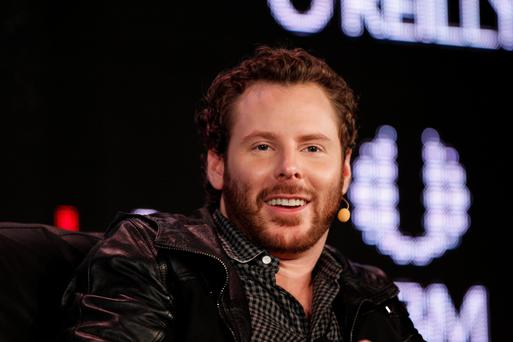 Sean Parker, co-founder of Napster Inc. and managing partner of the Founders Fund,