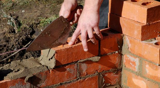House builders have sprung back into action