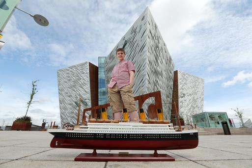 Visitors to Belfast last year included Brynjar Karl, a young boy with autism from Reykjavik, Iceland, who loves both Lego and ships, and built the Titanic solely from toy bricks