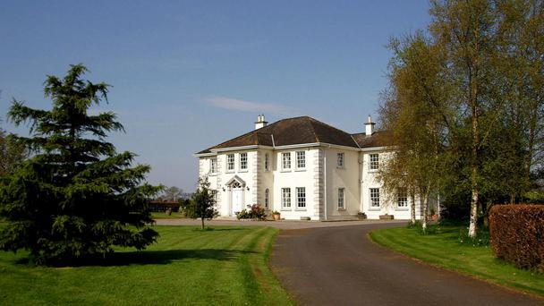Milden is a neo-Georgian mansion on 24 acres in Co Kildare