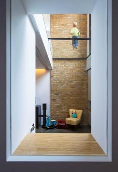 London super-basement in Hammersmith, by Neil Dusheiko Architects