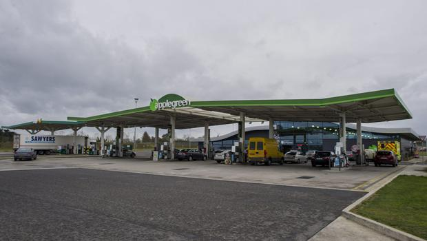 One of the Applegreen service station – on M1 going north