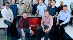 The Bizimply team. The company is set to hire 15 more staff