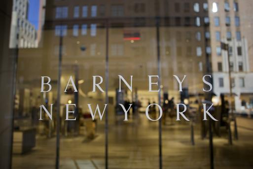 The Barney's New York retail store. Photo: Bloomberg