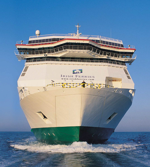 Irish Ferries, part of the Irish Continental Group, which is led by Eamonn Rothwell