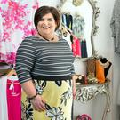 Rosemary Kearns in her plus-size boutique Tempted. She opened her first clothes shop in 2003 and then branched out. Photo: Tony Gavin.
