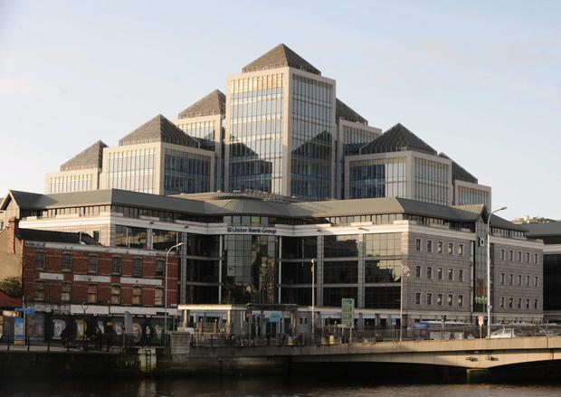 Ulster Bank headquarters. Photo: Damien Eagers