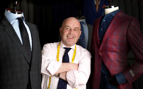 Master tailor Louis Copeland III loves the sentimental side to selling suits. Photo: David Conachy