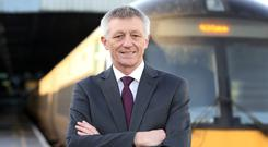 Iarnrod Eireann Chief Executive David Franks