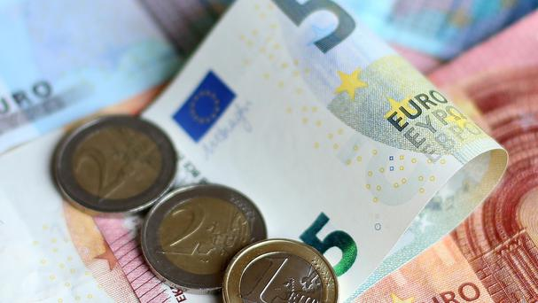 'Figures from the Department of Finance for the period to the end of April show tax revenues were up 9pc year-on-year to just over €14bn - €475m above expectations' Stock photo: PA