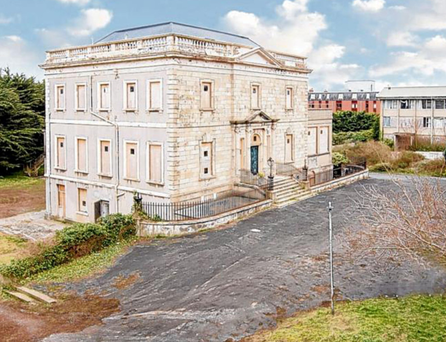 Neptune House, a Georgian Villa in Blackrock, Co Dublin, which was previously owned by the American philanthropist Chuck Feeney and was due to be redeveloped