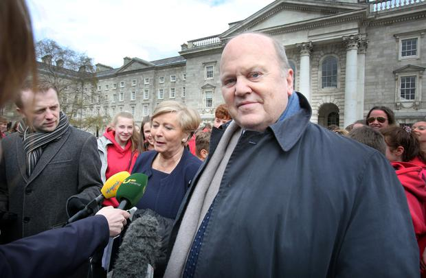 'We've got what we wanted,' says Minister for Finance Michael Noonan. Photo: Tom Burke