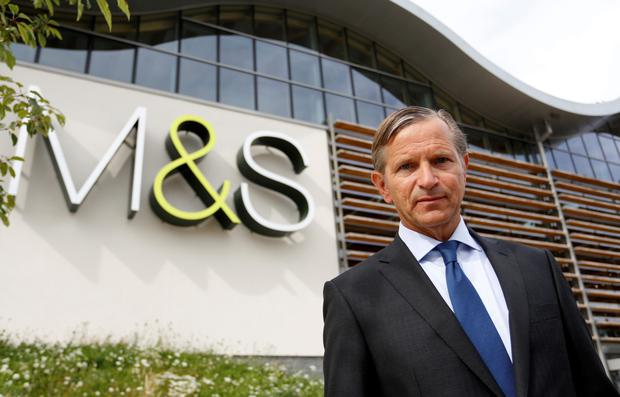 Marc Bolland, the outgoing Dutch chief executive of UK retailer Marks & Spencer. Photo: Bloomberg