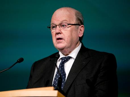 Minister Michael Noonan. Photo: Chris Bellew/Fennell Photography