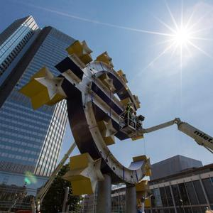 ECB may push for mergers. Photo: Bloomberg