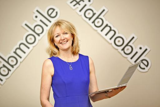 Suzanne McElligott, chief executive officer at IAB Ireland. Photo: Gerry Mooney