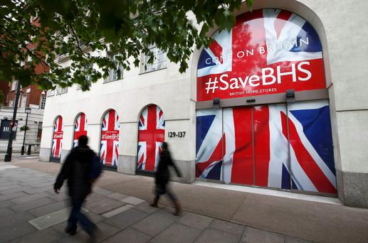 The headquarters of retailer British Home Stores in London