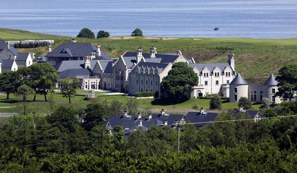 Lough Erne resort which was formerly owned by businessman Jim Treacy