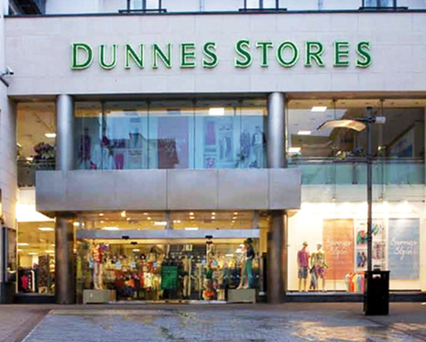 Dunnes Stores seen from Edward Square
