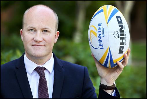 Paul Dermody, Head of Commercial & Marketing at Leinster Rugby. Photo: Steve Humphreys