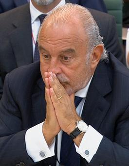 Billionaire Philip Green.