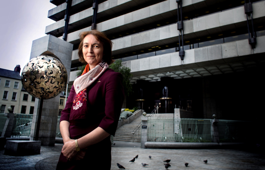 Sharon Donnery, Deputy Governor of the Central Bank speaks exclusively Photo: David Conachy