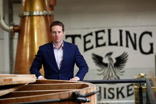 Stephen Teeling, sales and marketing director at Teeling Whiskey. Photo: Conor McCabe