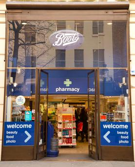 Boots revenue here hits €453m