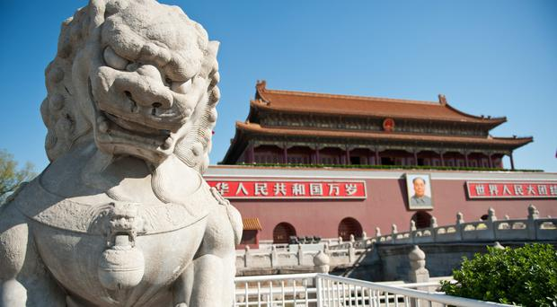 The Forbidden City in Beijing